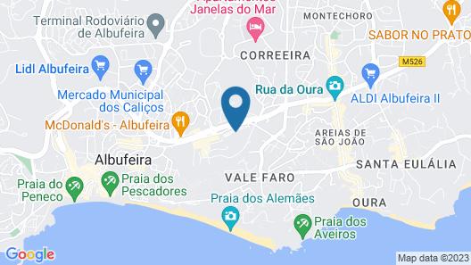 Paraiso Albufeira Map
