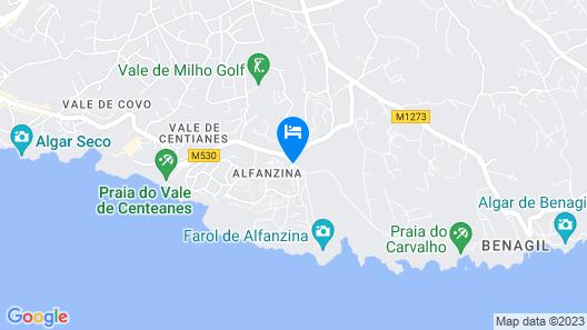 Rocha Brava Village Resort Map