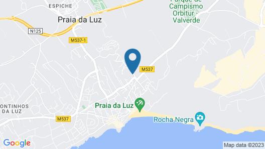Luz Ocean Club Map