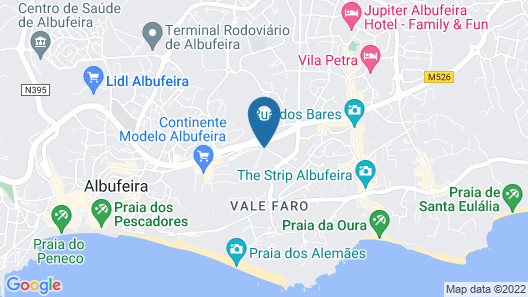 Ondamar Hotel Map