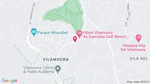 Hilton Vilamoura As Cascatas Golf Resort & Spa Map