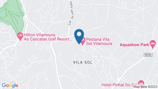 Pestana Vila Sol Golf & Resort Hotel Map