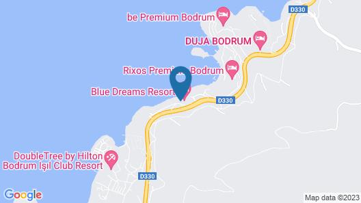 Kairaba Blue Dreams Resort Map