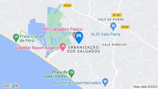 Salgados Vila das Lagoas Map