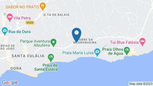 Balaia Golf Village Resort Map