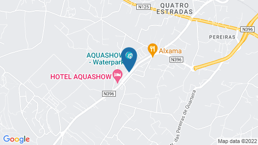 Aquashow Park Hotel Map