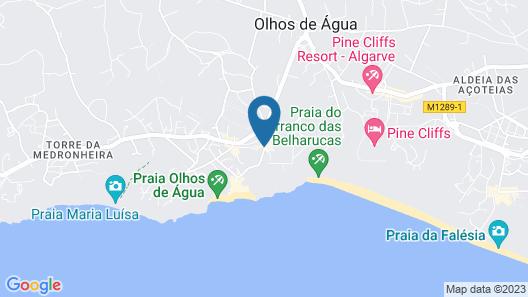 Hotel Riu Guaraná Map