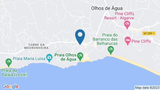 Oceanus Aparthotel Map