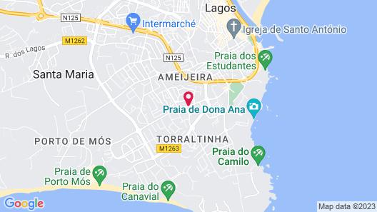 Via Don'Ana Apartamentos Map