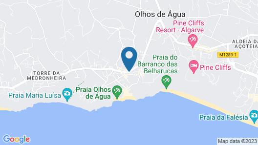 Apartamentos Olhos do Mar Map