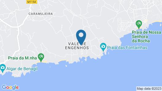 Vila Alba Eco-Resort Map