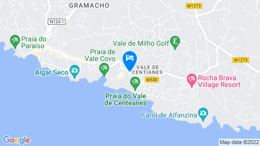 Hotel Baía Cristal Beach & Spa Resort Map