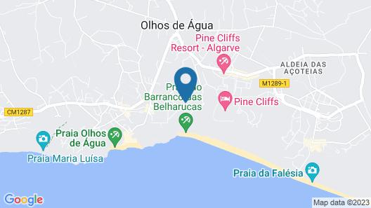 3HB Falésia Mar Map