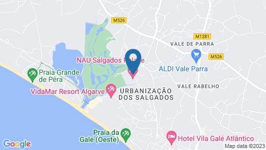 Salgados Palace Map