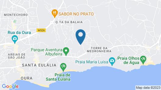 Alfagar Alto da Colina Map