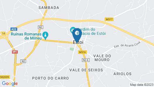 Casa de Estoi Map