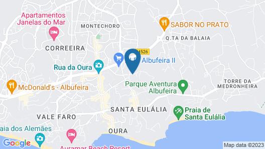 Albufeira Sol Hotel & Spa Map