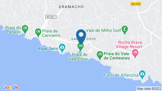 Hotel Carvoeiro Plaza Map