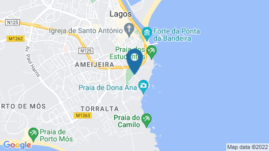 Iberlagos Apartments Map