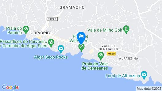 Tivoli Carvoeiro Map