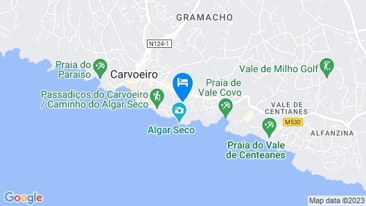 Algar Seco Parque Map