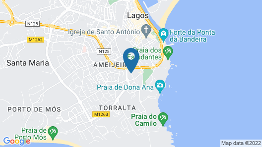 Aqualuz Lagos Hotel & Apartments – S.Hotels Collection Map