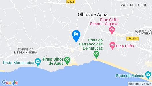 3HB Clube Humbria - All Inclusive Map