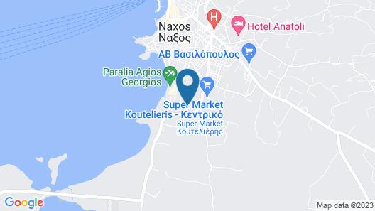 Astir of Naxos Map