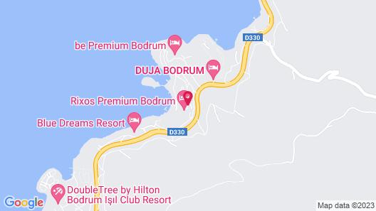 Rixos Premium Bodrum - All Inclusive Map