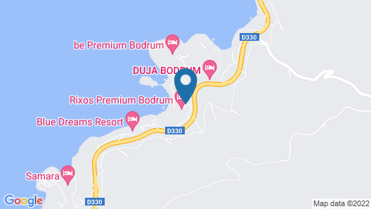 Rixos Premium Bodrum - All Inclusive Map