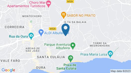 Pinheiros da Balaia Map
