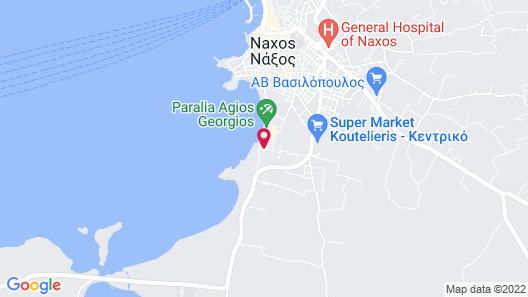 Alkyoni Beach Hotel Map