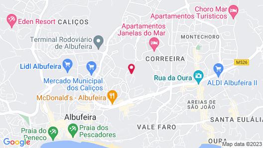 Real Bellavista Hotel & Spa Map