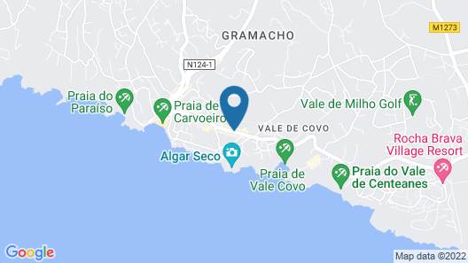 Hotel Mirachoro Praia Map