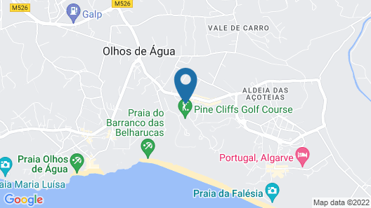 Pine Cliffs Residence, a Luxury Collection Resort, Algarve Map