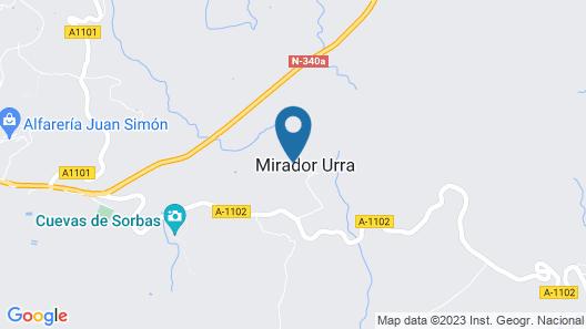 Cortijo Urra - Rural Accommodations & Field Center Map