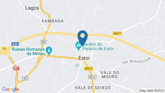 Pousada Palacio De Estoi - Monument Hotel & SLH Map