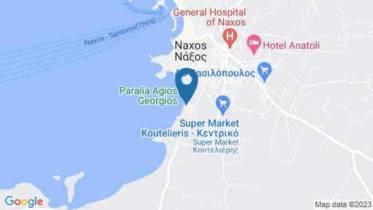 Villa Naxia Map