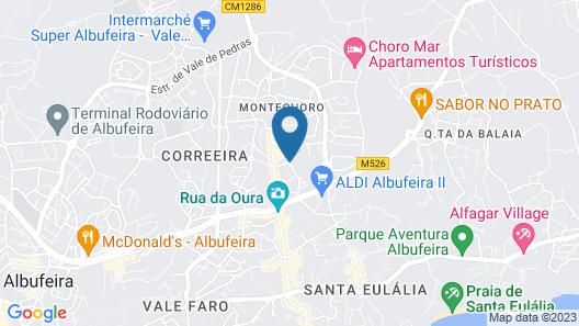 Vila Petra Map