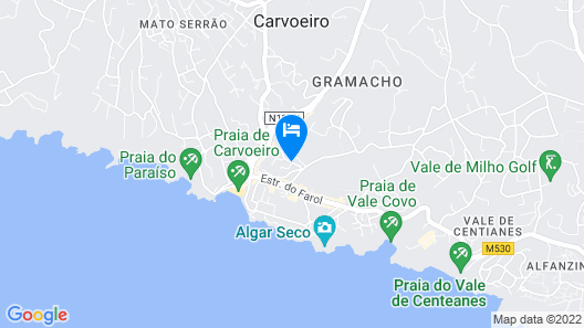 Monte Dourado Resort Map
