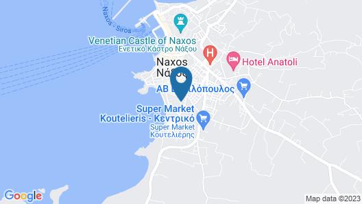 Spiros Hotel Map