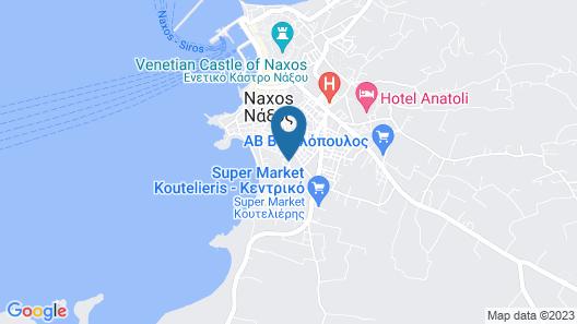 Santa Katerina Studios & Apartments Map
