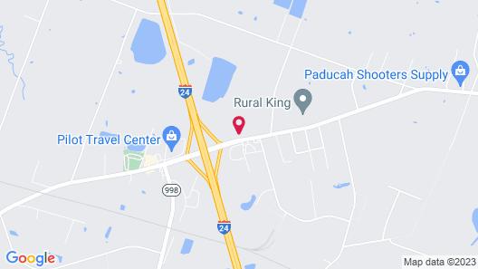 Comfort Inn Paducah I-24 Map