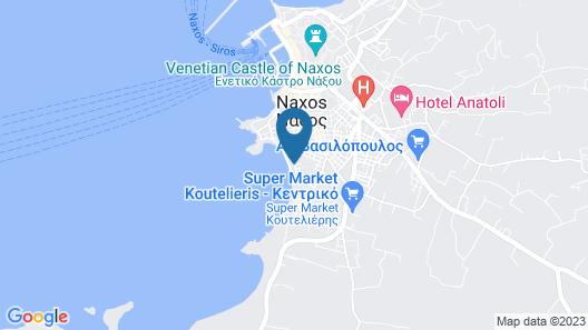 Ippokampos Beachfront Map