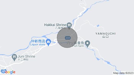12 People Comfortable Westernstyle Twin Room w / Minamiuonuma Niigata Map