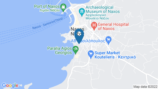 Argo Boutique Hotel Map