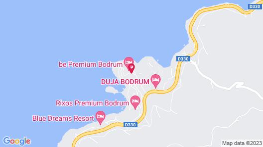 Be Premium Bodrum Map