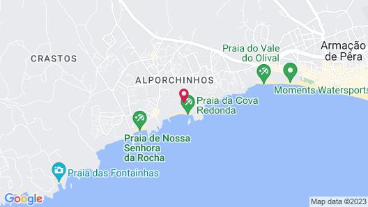 Vilalara Thalassa Resort Map