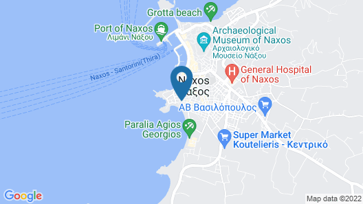 Antony Suites - Adults Only Map