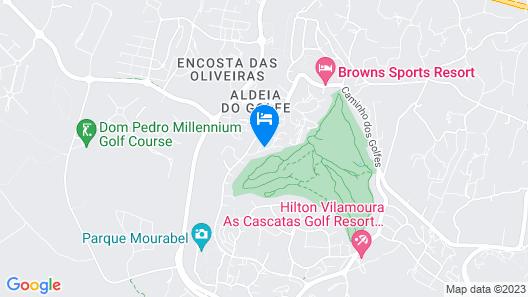 Capitalmoura Mouragolf Village Map